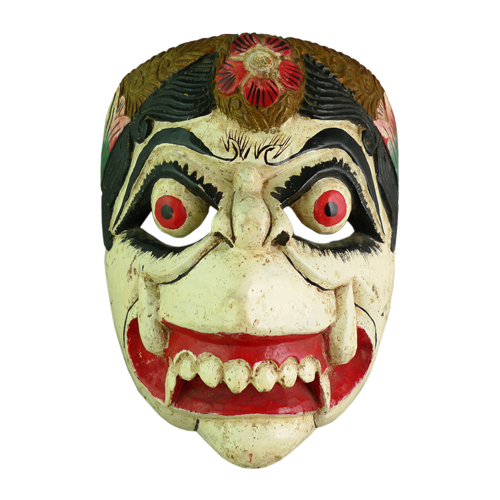 Java white Hanoman mask