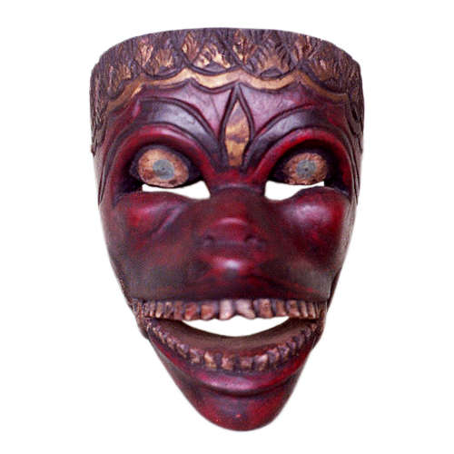 Garut Java red face mask
