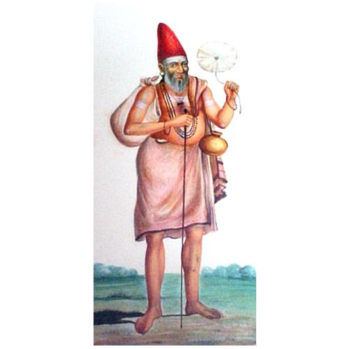 Portrait of a Religious Mendiant