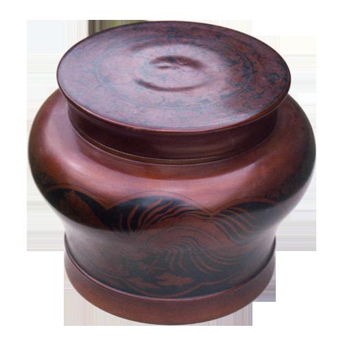 Large lidded Palembang bowl