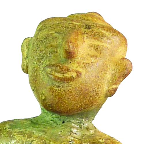 Sawankhalok (Thailand) celedon materity figure