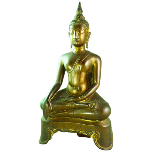 Ayuthaya Budha seated in typical pose